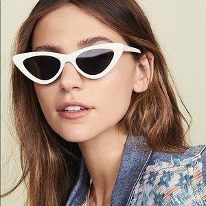 Le Specs x Adam Selma The Last Lolita Sunglasses